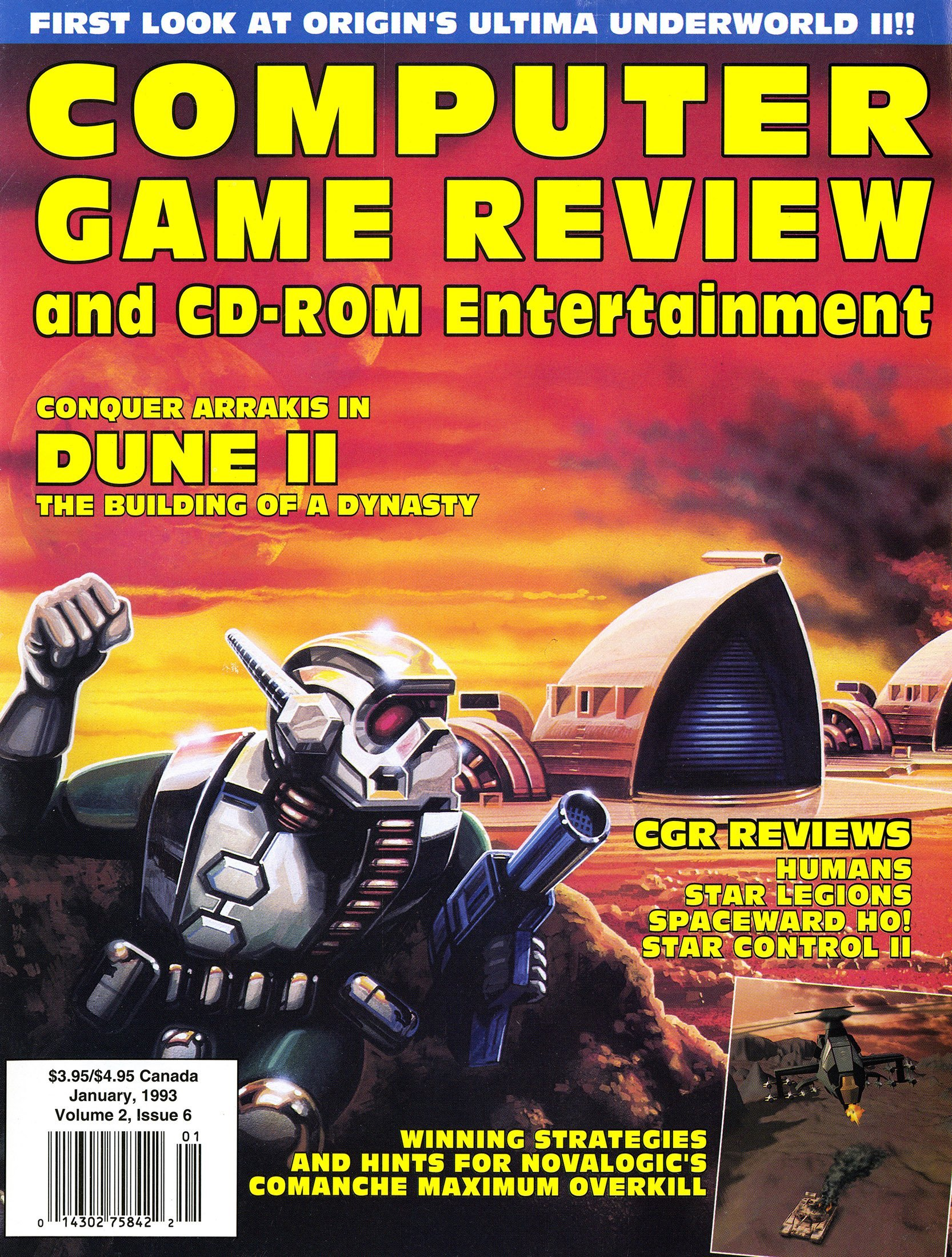 Computer Game Review Issue 18 (January 1993)