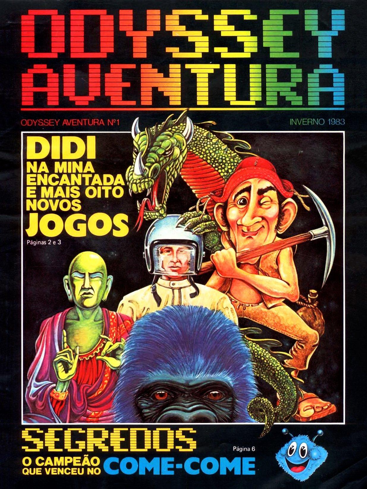 Odyssey Aventura Issue 1 (Winter 1983)