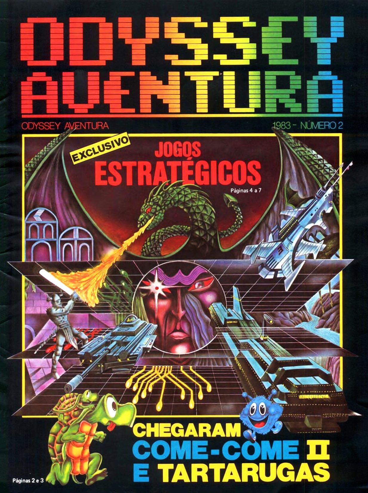 Odyssey Aventura Issue 2 (1983)
