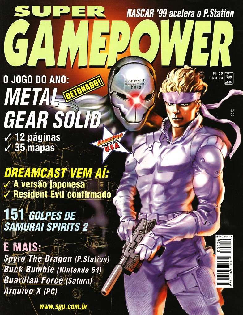 SuperGamePower Issue 056 (November 1998)