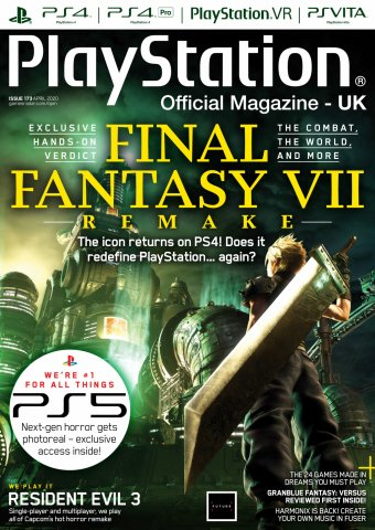Playstation Official Magazine UK 173 (April 2020)