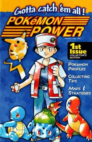 Pokémon Power Volume 1 (August 1998)