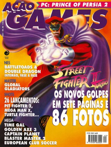 Acao Games Issue 040 (August 1993)
