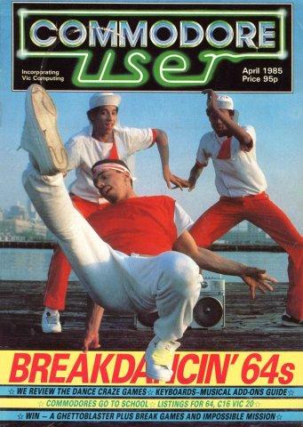 Commodore User Issue 19 (April 1985)