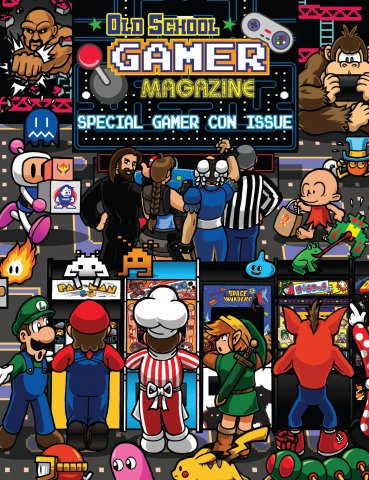 Old School Gamer Magazine Issue 12.5 (Special Gamer Con Issue 2019)