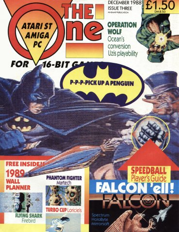 The One 003 (December 1988)