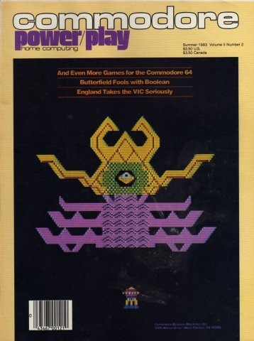 Commodore Power/Play Issue 005