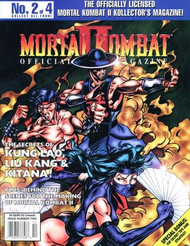 Mortal Kombat II Kollectors Magazine #2