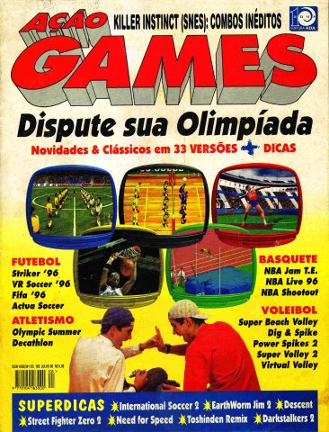 Acao Games Issue 105 (July 1996)