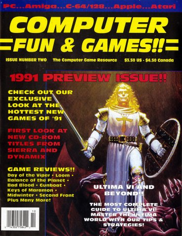 Computer Fun & Games!! Issue 02 (September 1990)