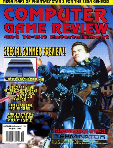 Computer Game Review Issue 01 (August 1991)