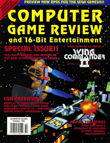 Computer Game Review Issue 03 (October 1991)