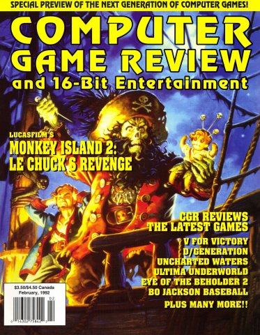 Computer Game Review Issue 07 (February 1992)