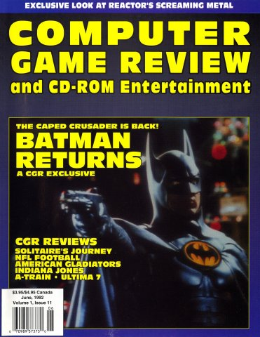 Computer Game Review Issue 11 (June 1992)