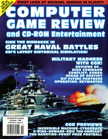 Computer Game Review Issue 15 (October 1992)