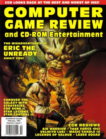 Computer Game Review Issue 19 (February 1993)