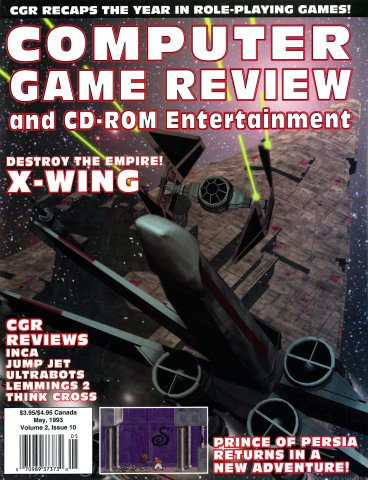 Computer Game Review Issue 22 (May 1993)