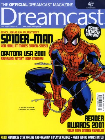 Official Dreamcast Magazine 19 (May 2001)
