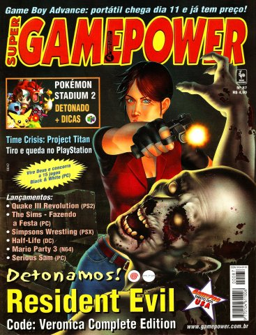 SuperGamePower Issue 087 (June 2001)