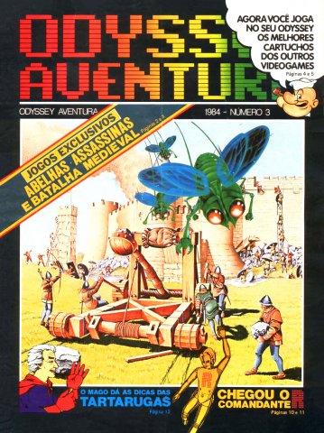 Odyssey Aventura Issue 3 (1984)