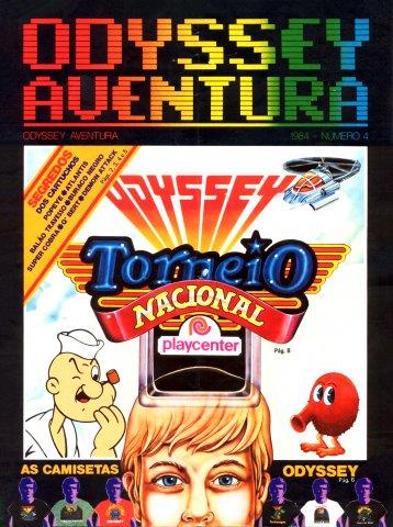 Odyssey Aventura Issue 4 (1984)