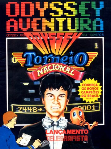 Odyssey Aventura Issue 5 (1984)