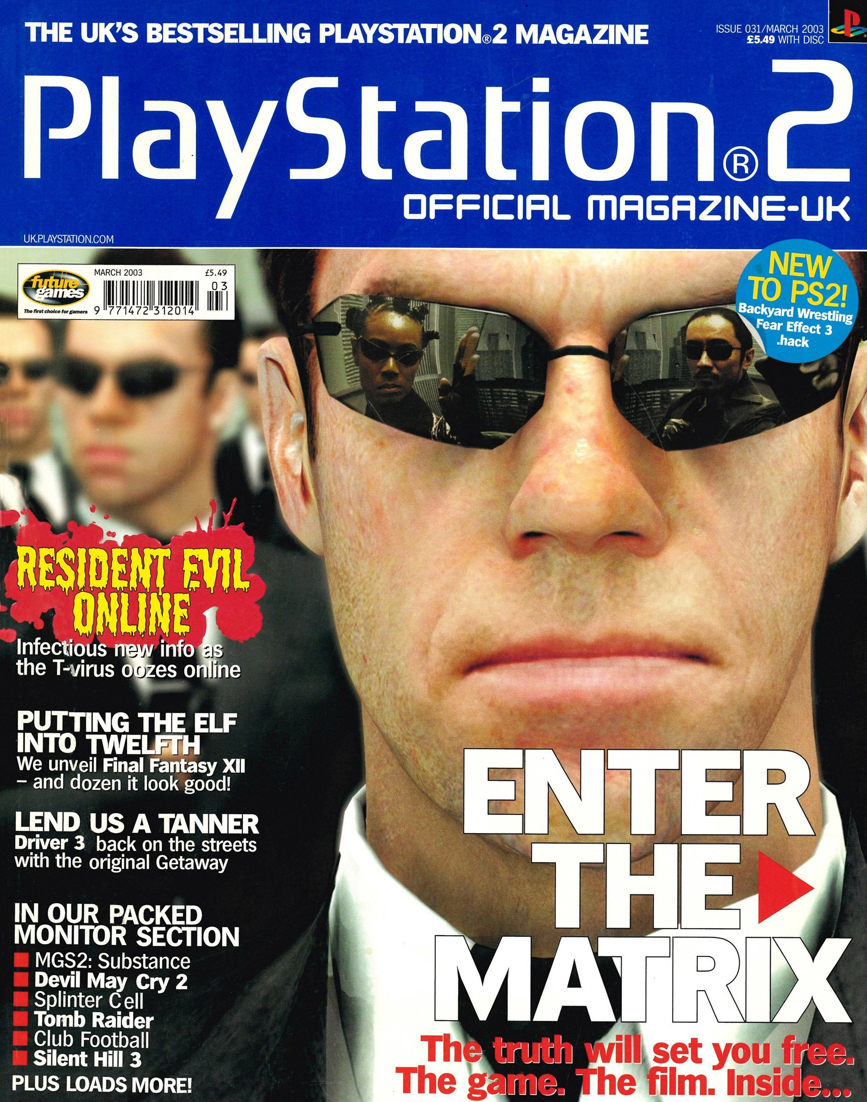 Official Playstation 2 Magazine UK 031 (March 2003)