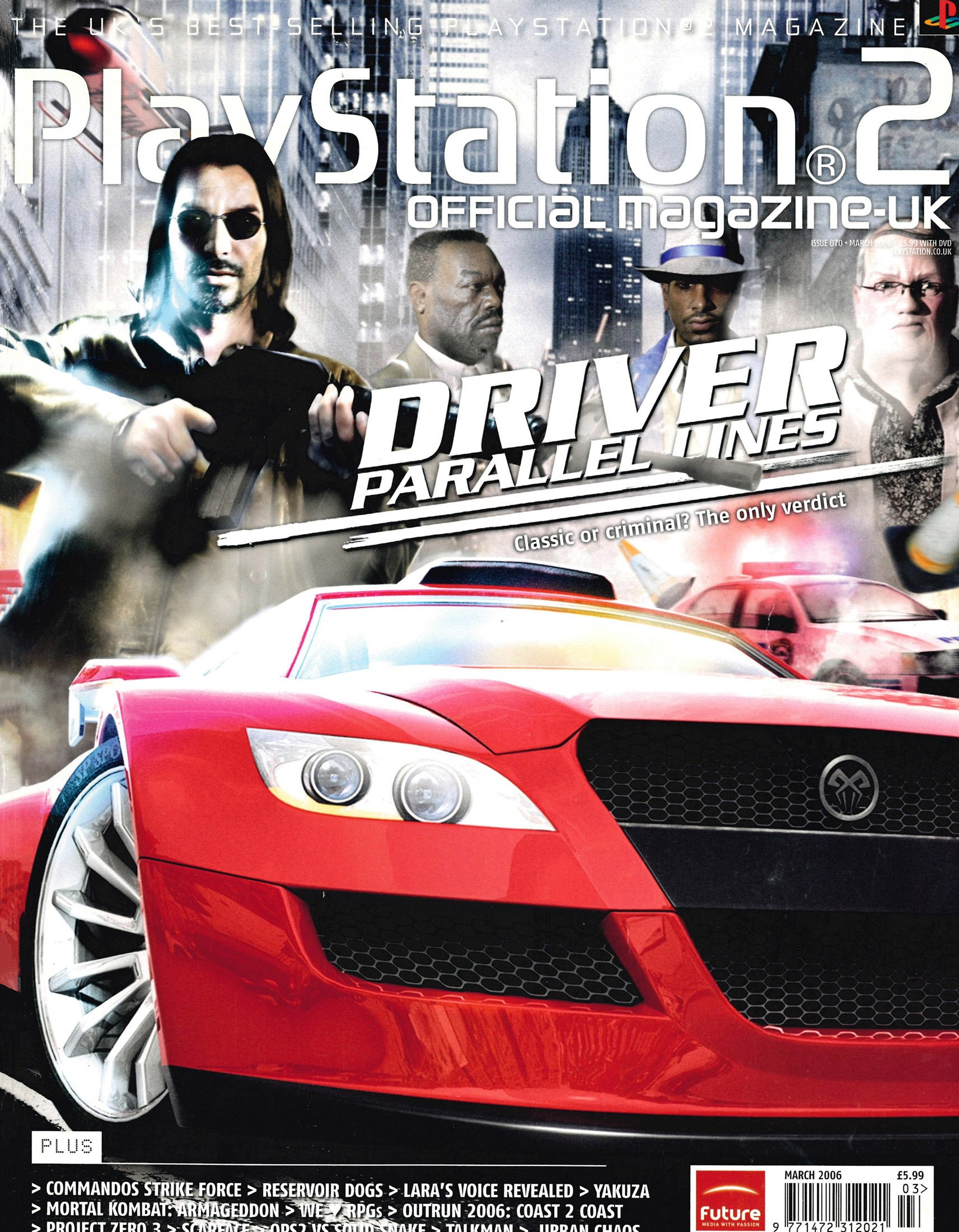 Official Playstation 2 Magazine UK 070 (March 2006)