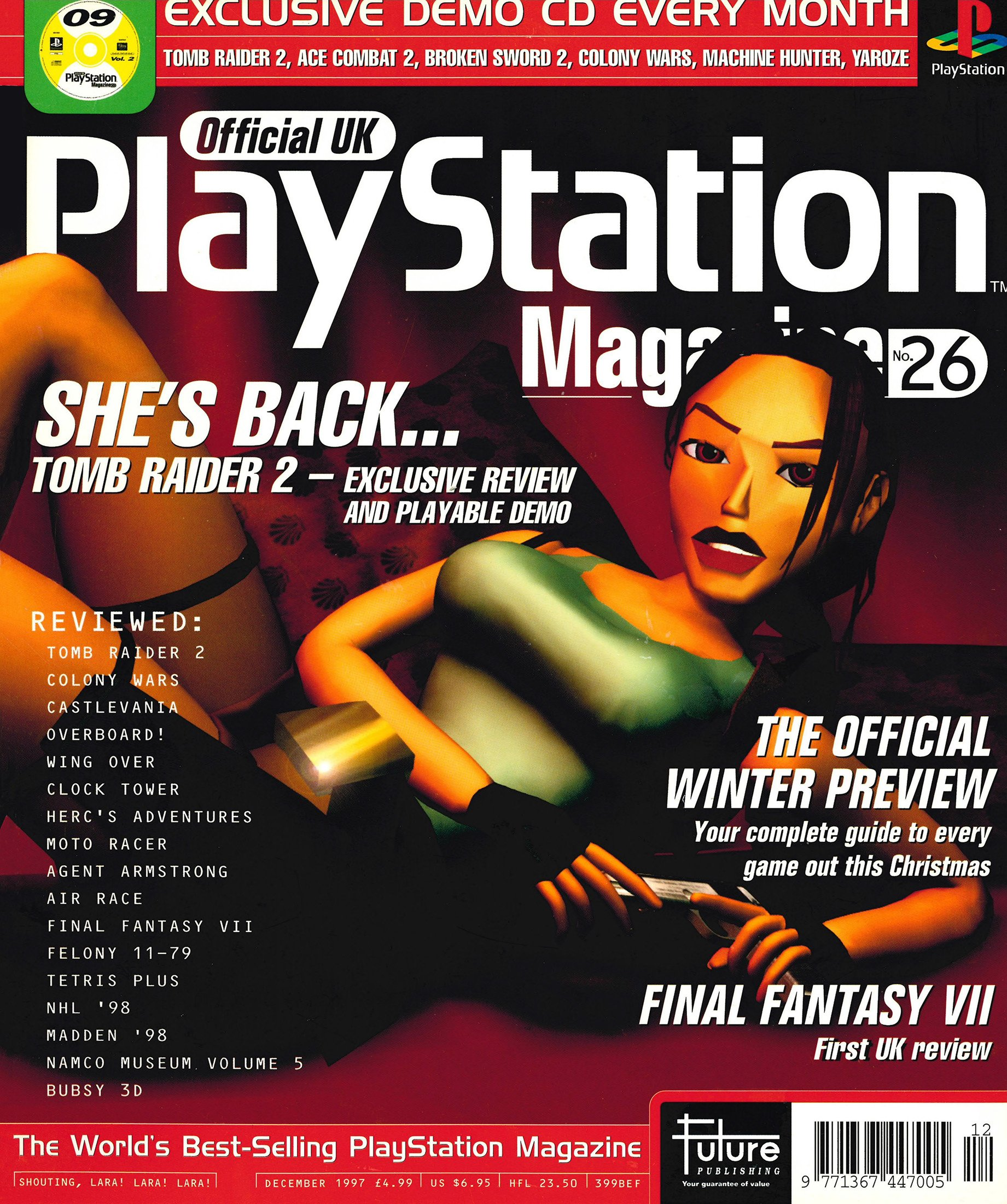 Official UK PlayStation Magazine Issue 026 (December 1997)