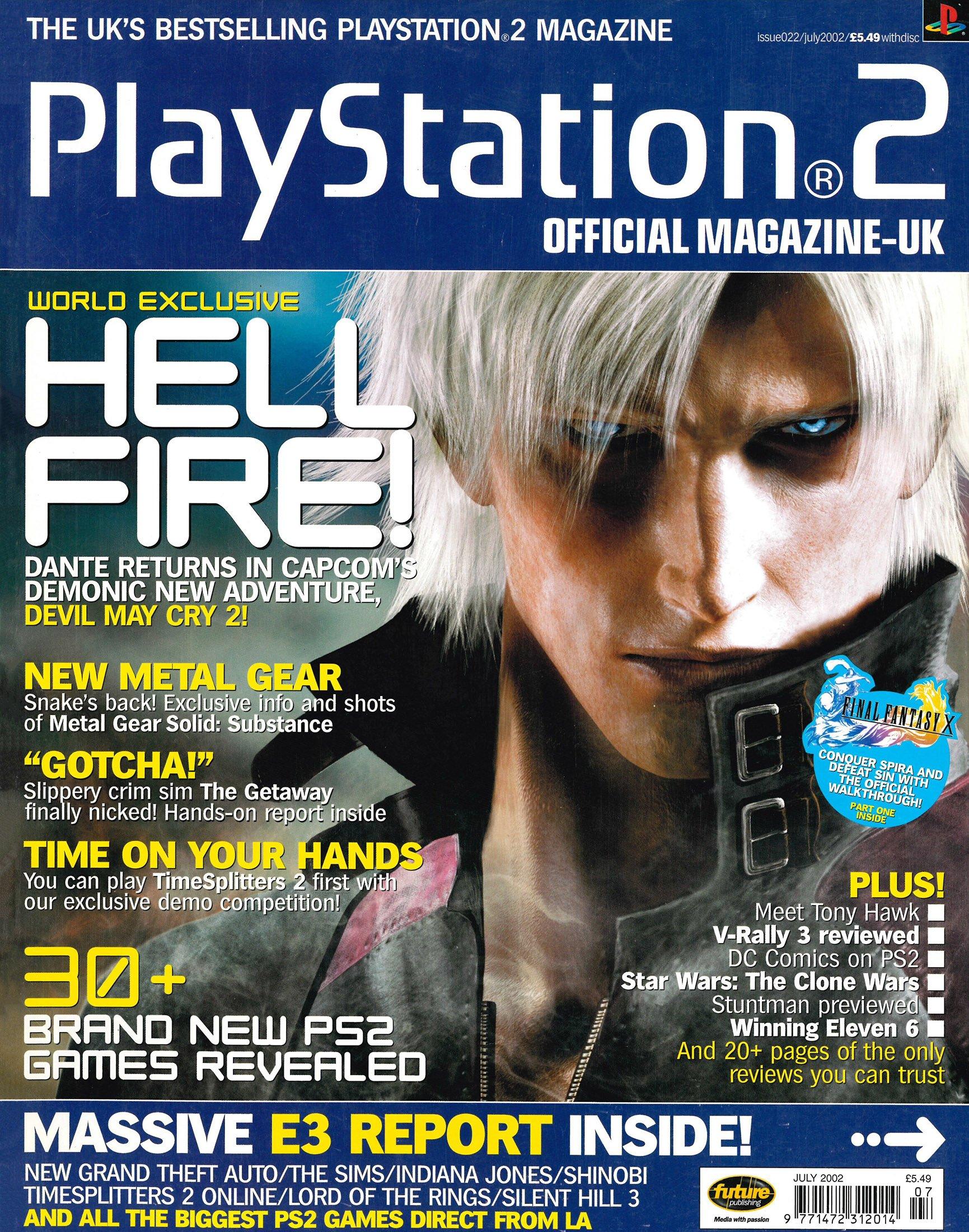 Official Playstation 2 Magazine UK 022 (July 2002)
