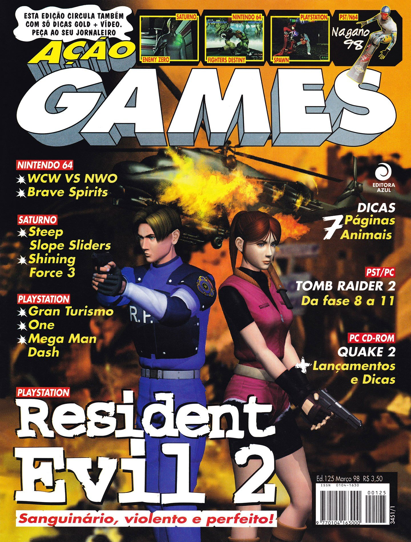 Acao Games Issue 125 (March 1998)