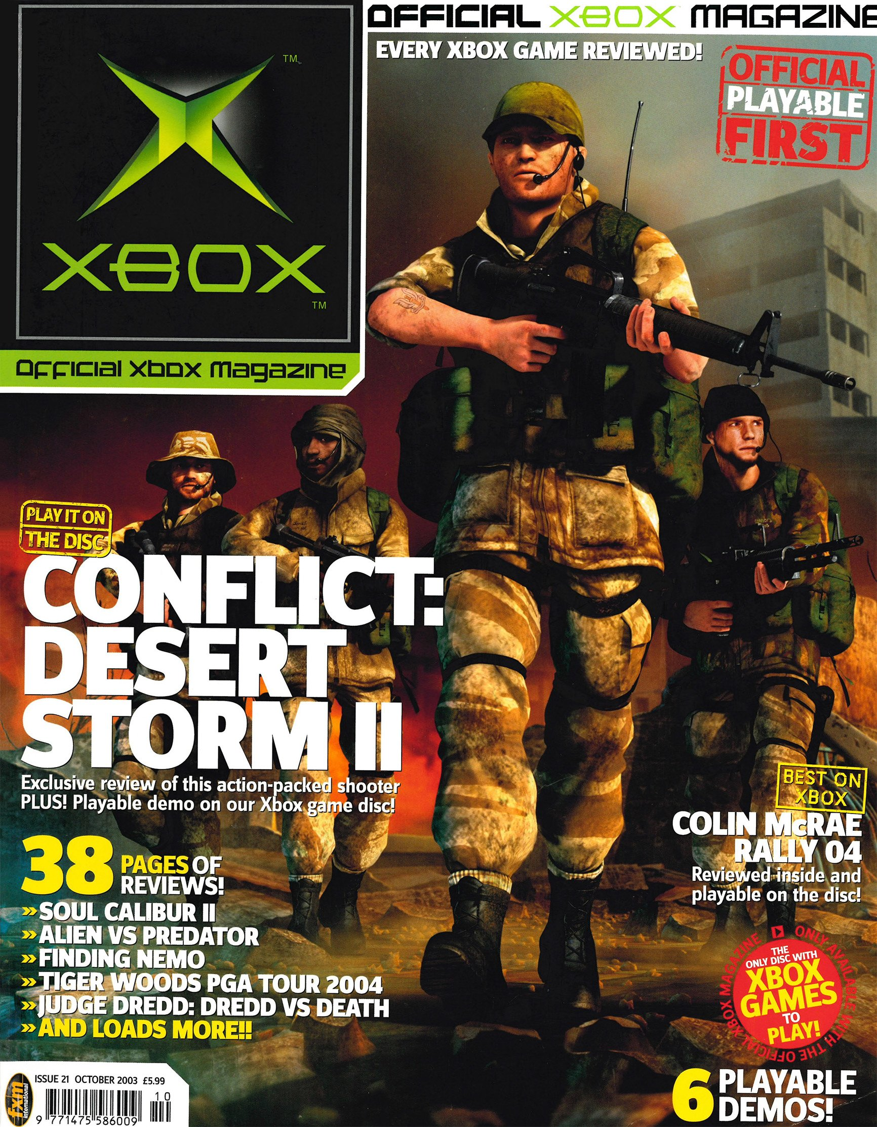 Official UK Xbox Magazine Issue 21 - October 2003