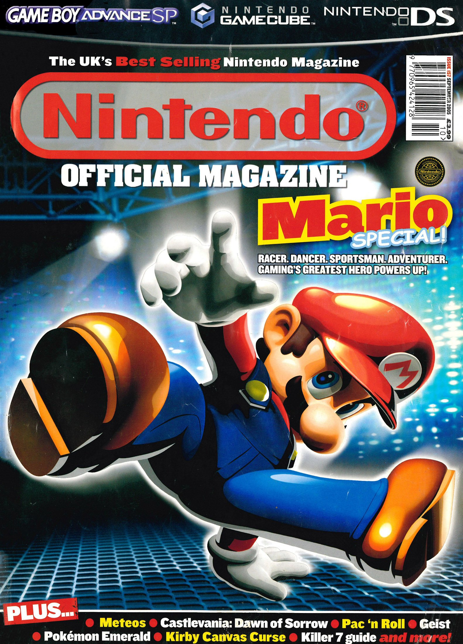 Nintendo Official Magazine 157 (September 2005)