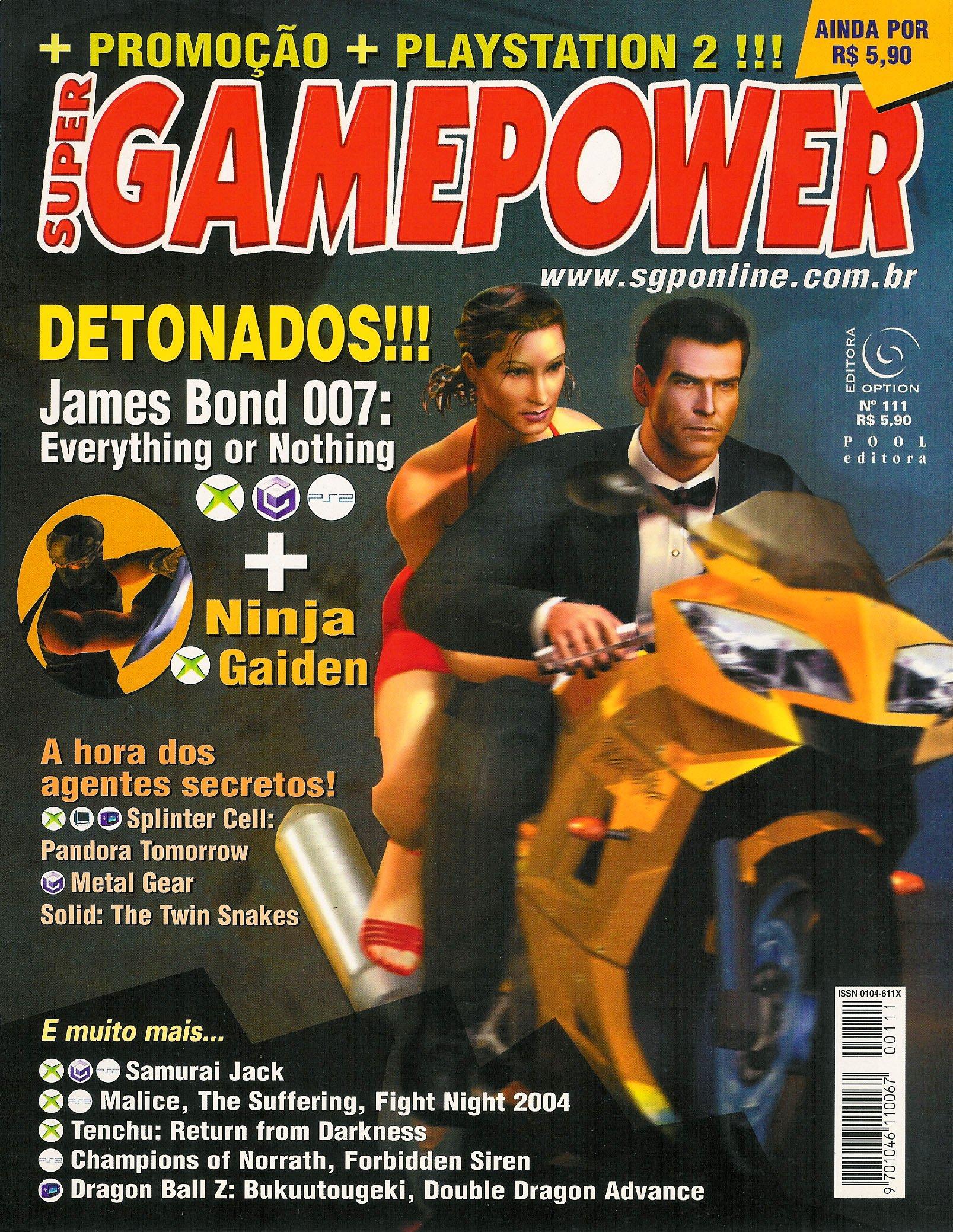 SuperGamePower Issue 111 (2004)