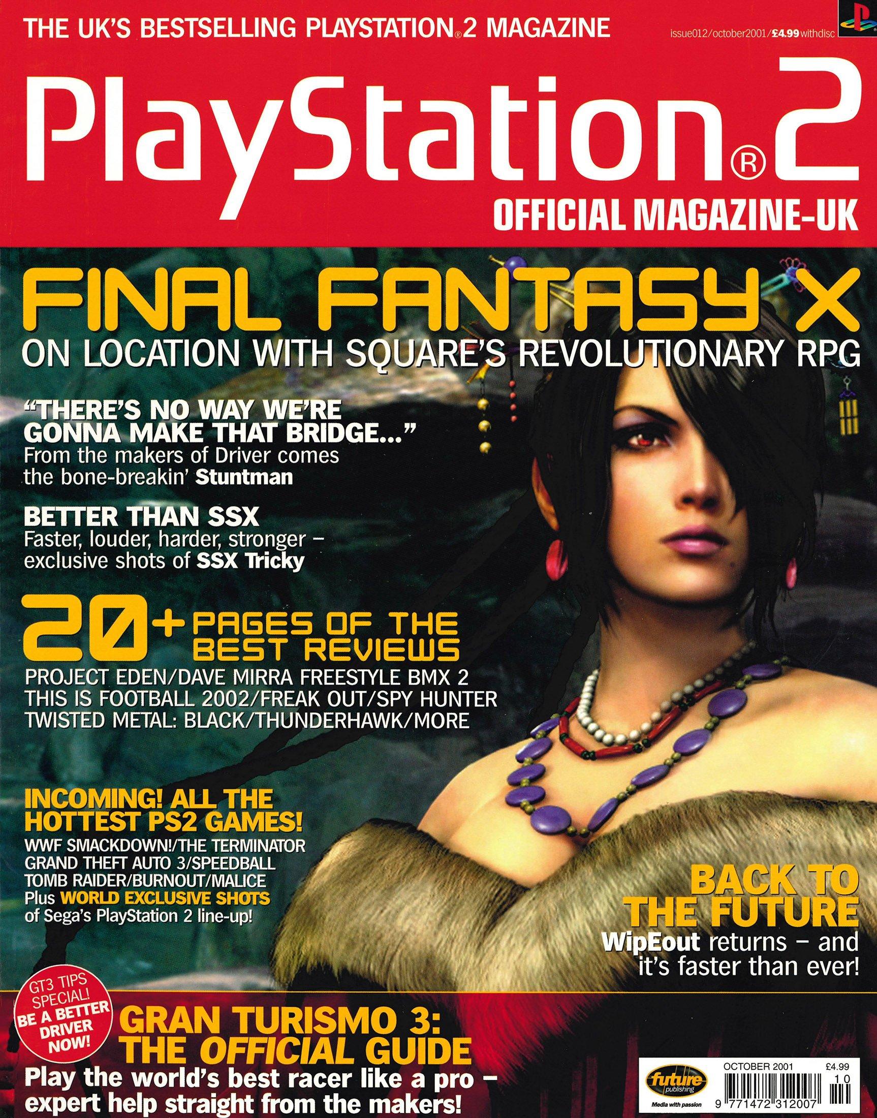 Official Playstation 2 Magazine UK 012 (October 2001)