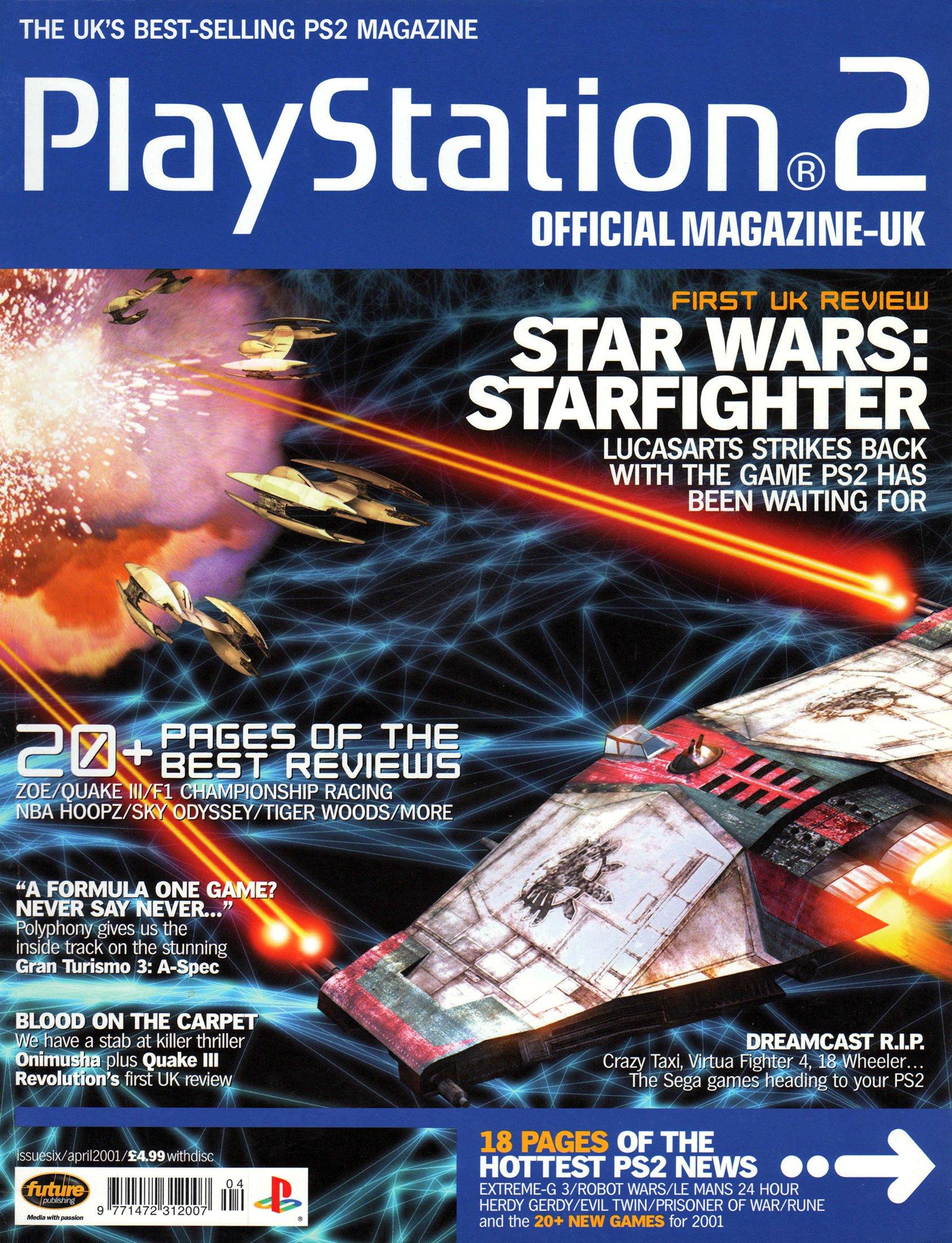 Official Playstation 2 Magazine UK 006 (April 2001)