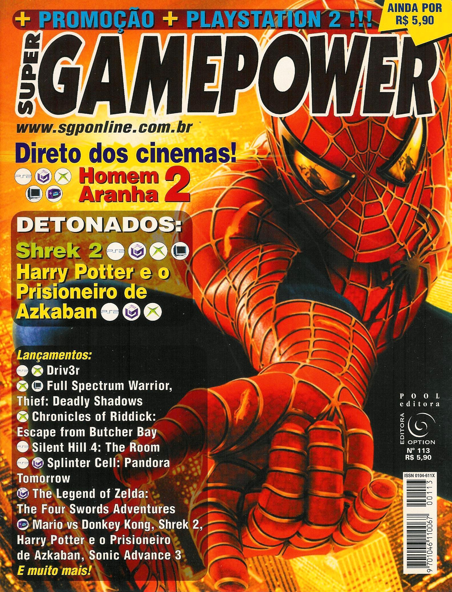 SuperGamePower Issue 113 (2004)