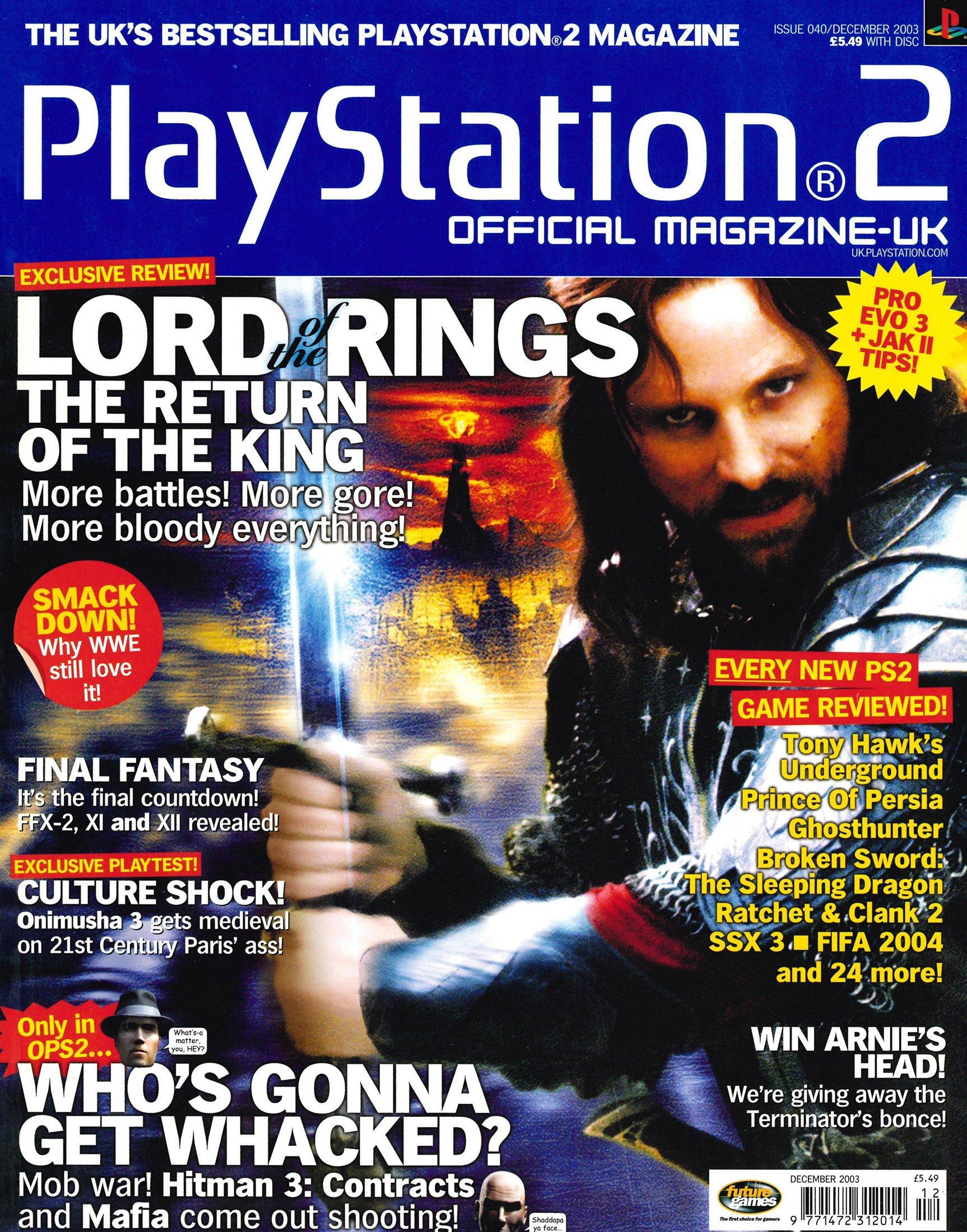 Official Playstation 2 Magazine UK 040 (December 2003)