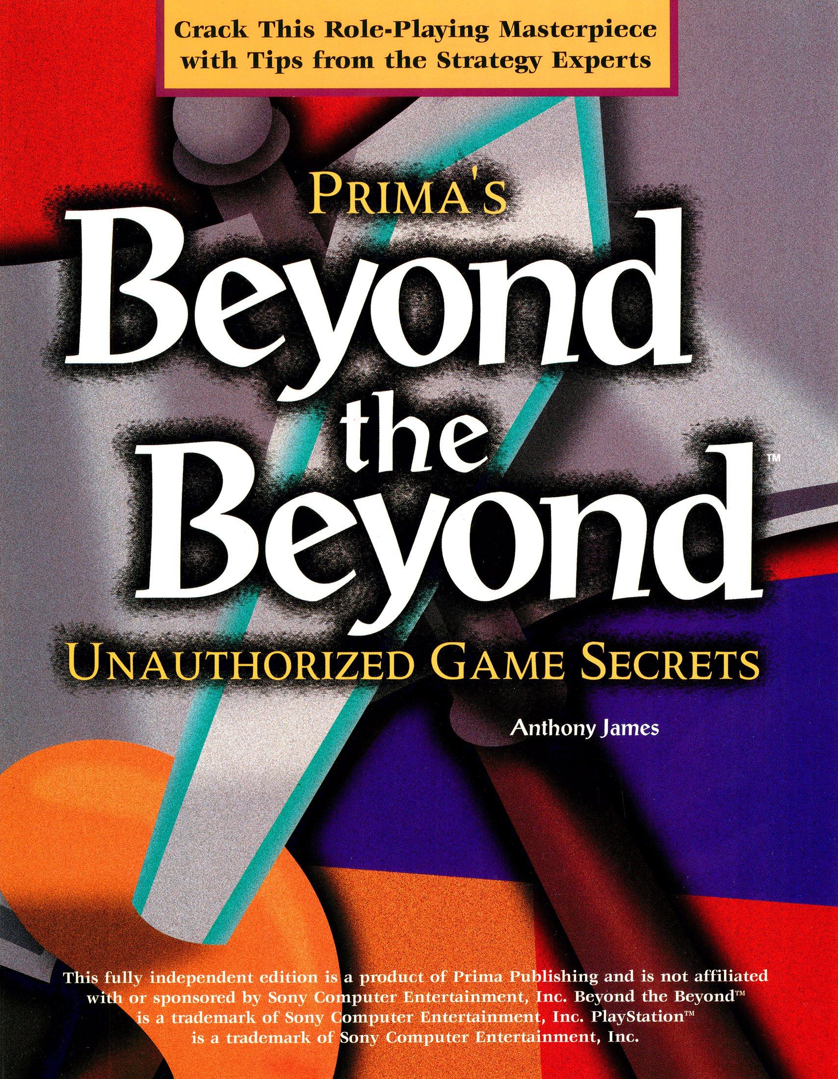 Beyond the Beyond - Unauthorized Game Secrets