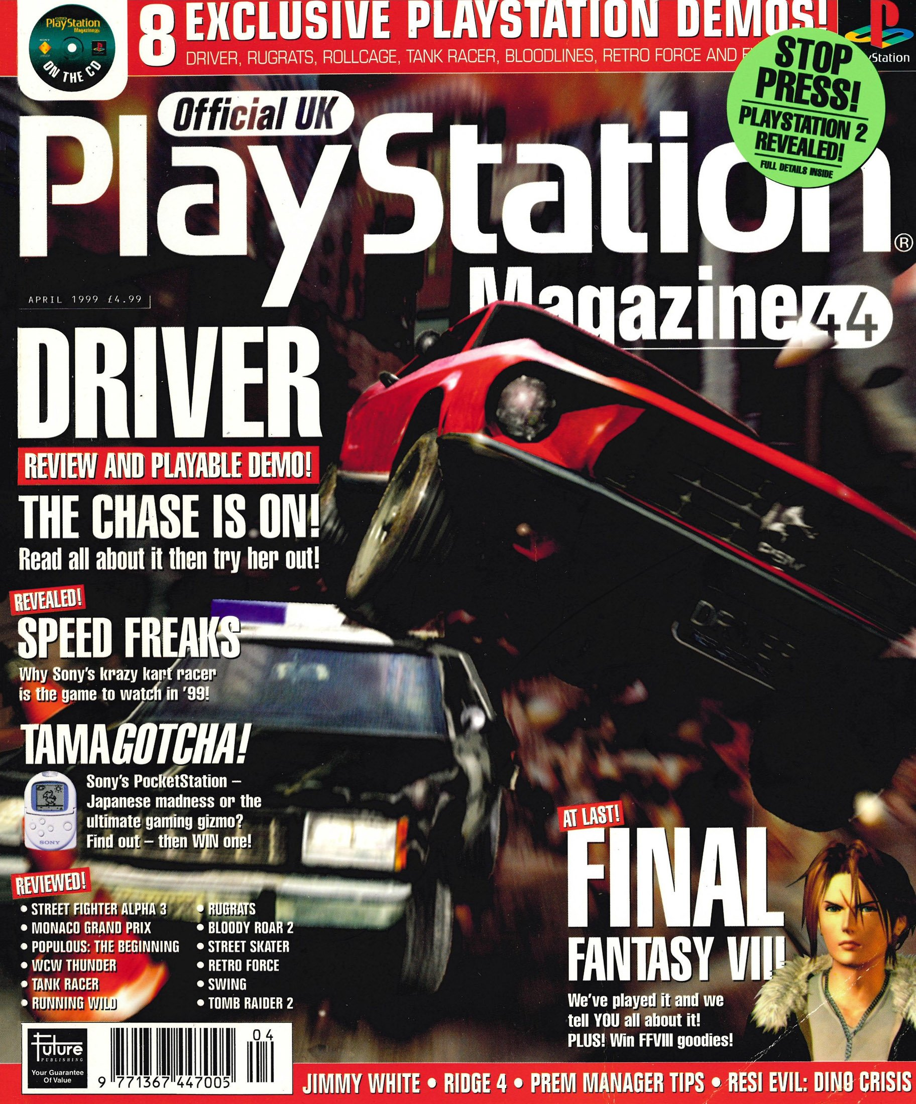 Official UK PlayStation Magazine Issue 044 (April 1999)