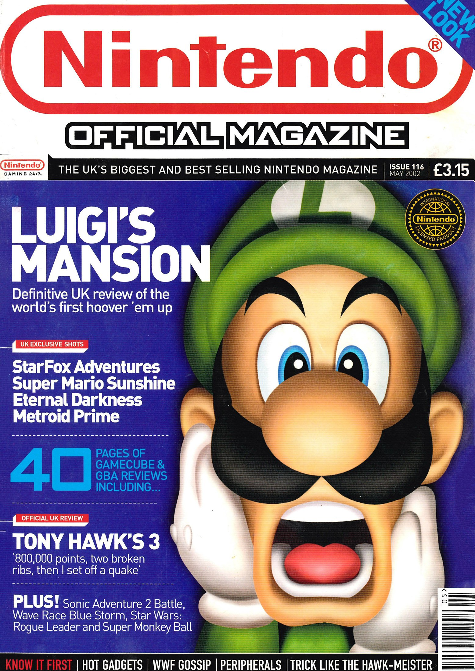 Nintendo Official Magazine 116 (May 2002)
