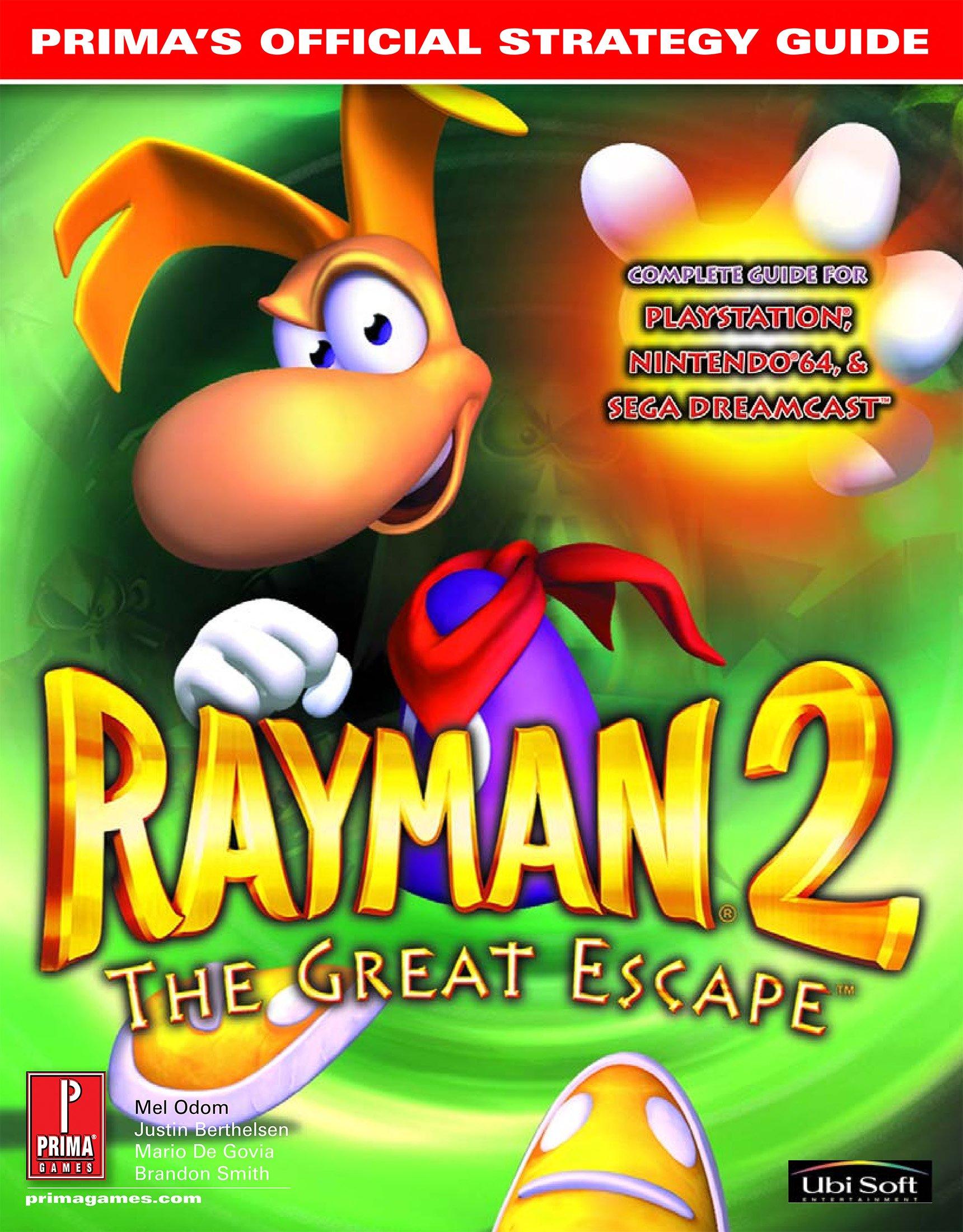 Rayman 2 - The Great Escape Prima Guide