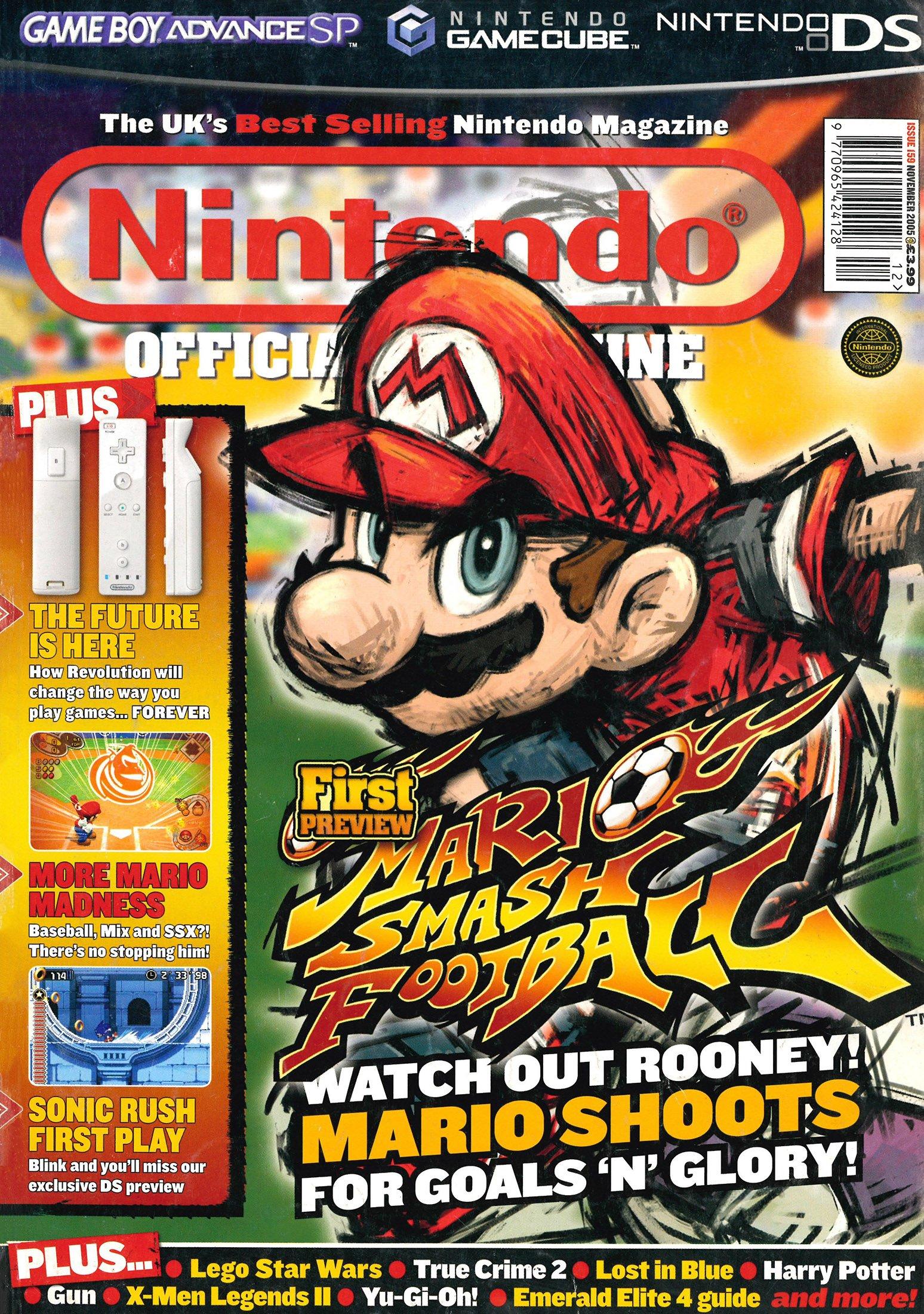 Nintendo Official Magazine 159 (November 2005)