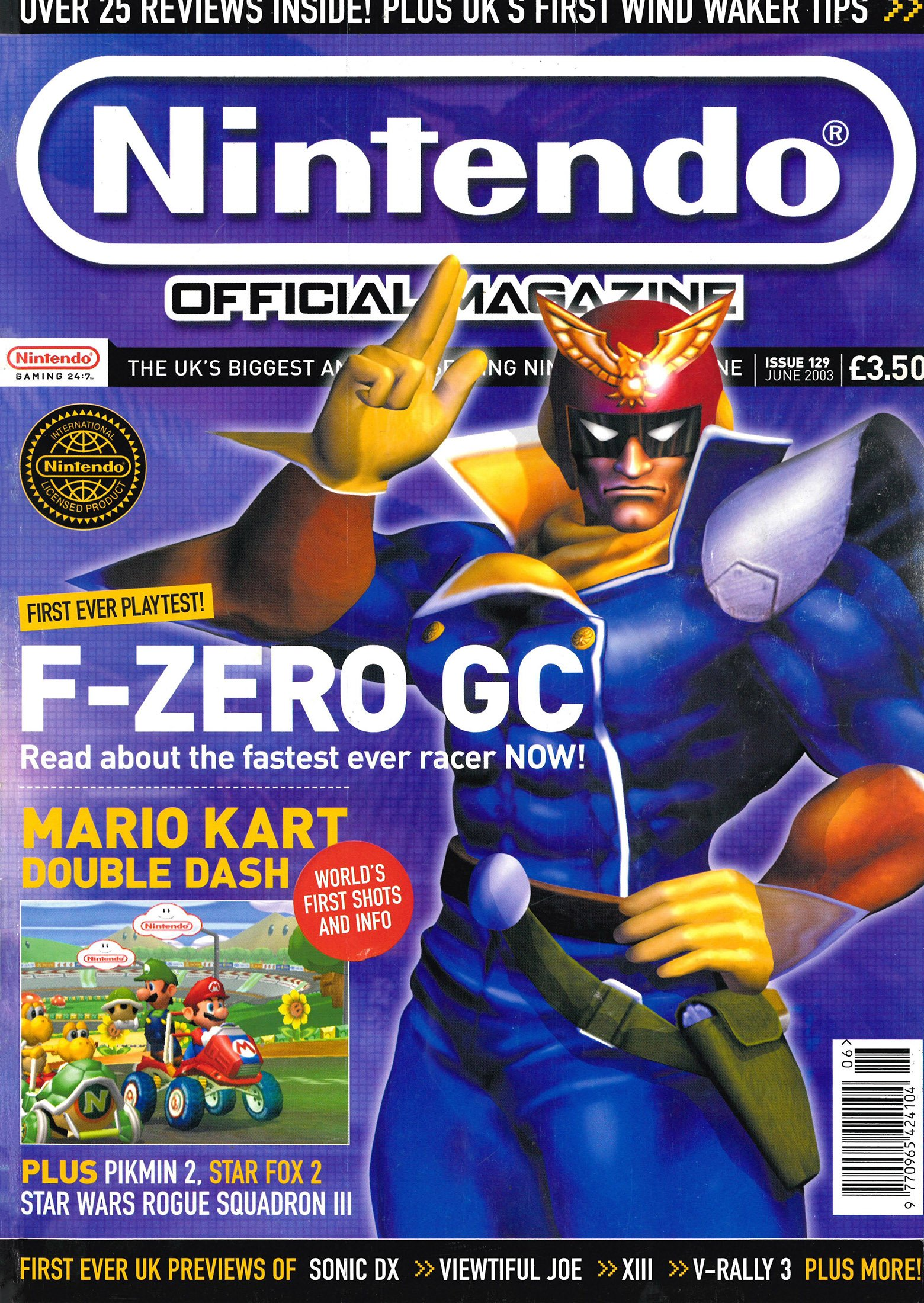 Nintendo Official Magazine 129 (June 2003)