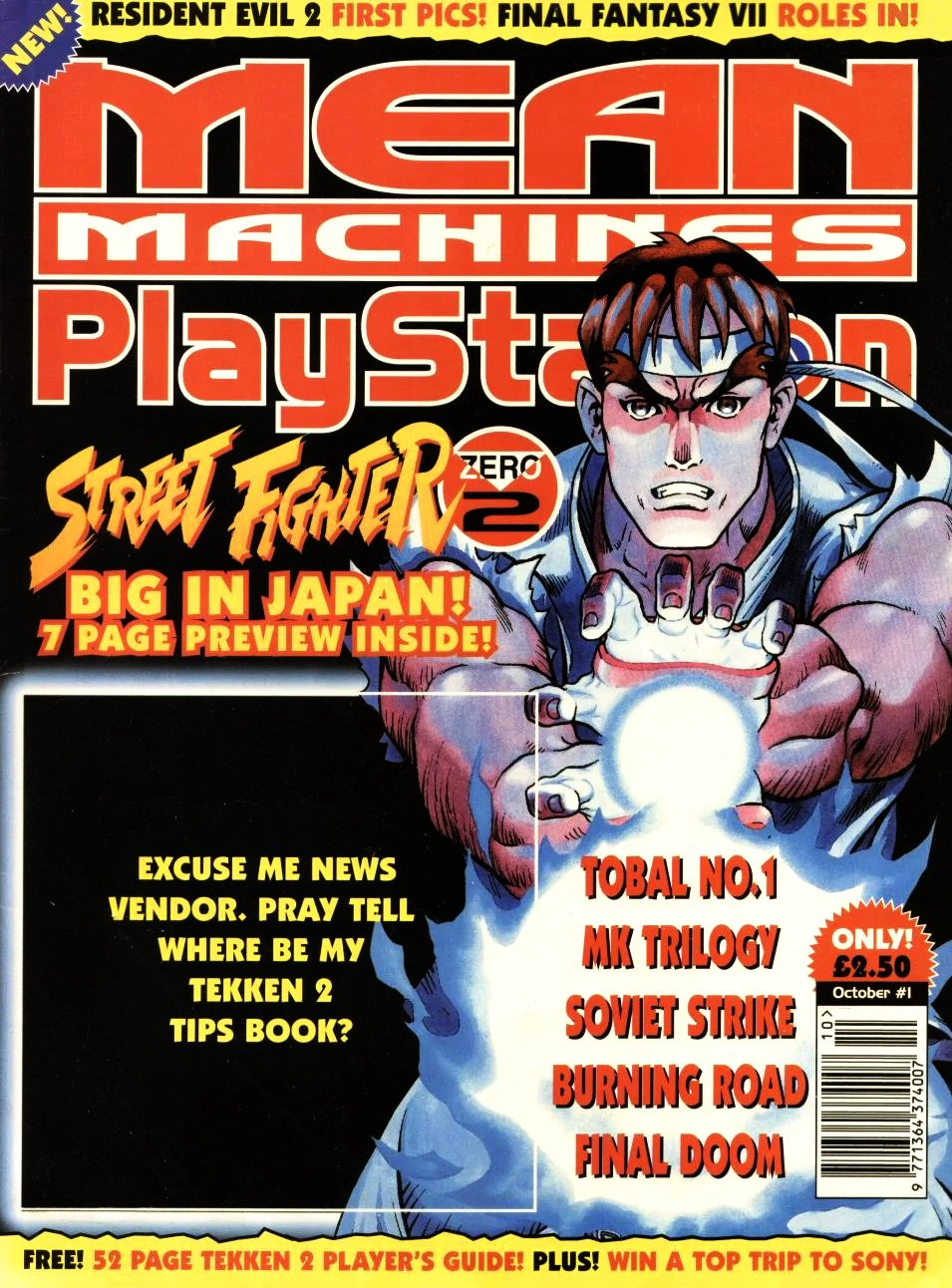 Mean Machines Playstation 01 (October 1996)