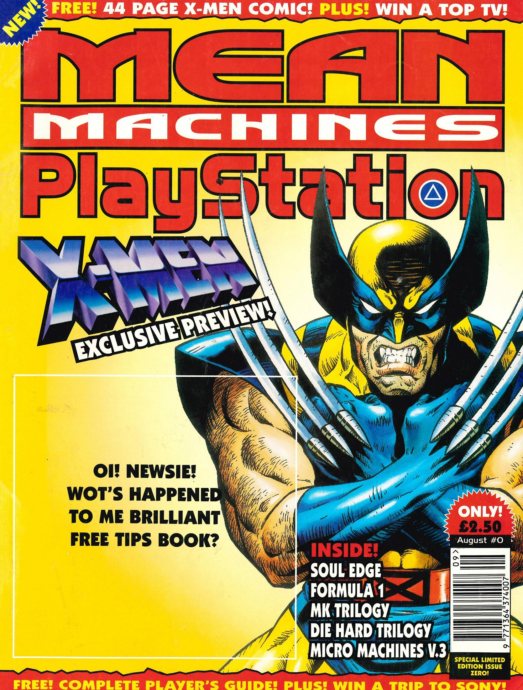 Mean Machines Playstation 00 (August 1996)