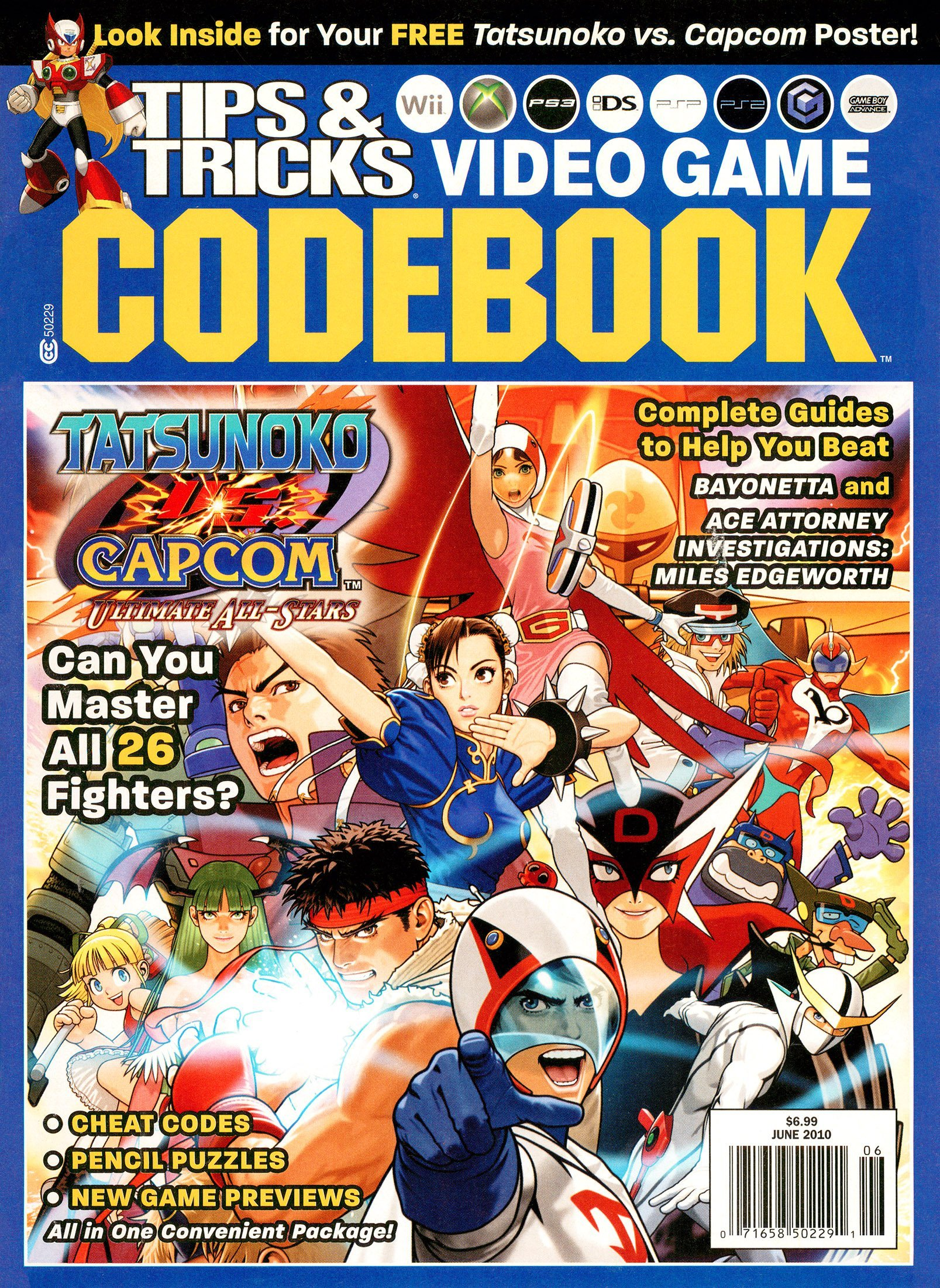 Tips & Tricks Video Game Codebook Volume 17 Issue 4 (June 2010)