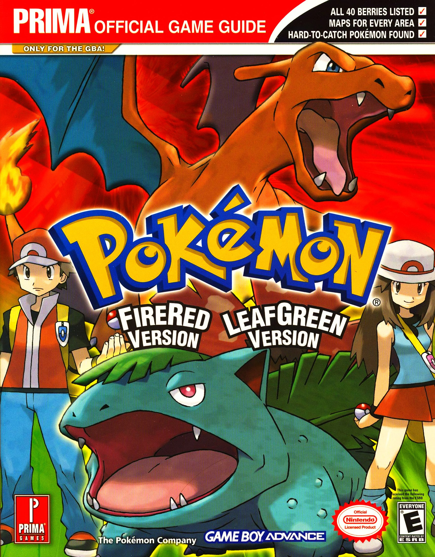 Pokémon Fire Red Version and Leaf Green Version (Prima Official Game Guide)