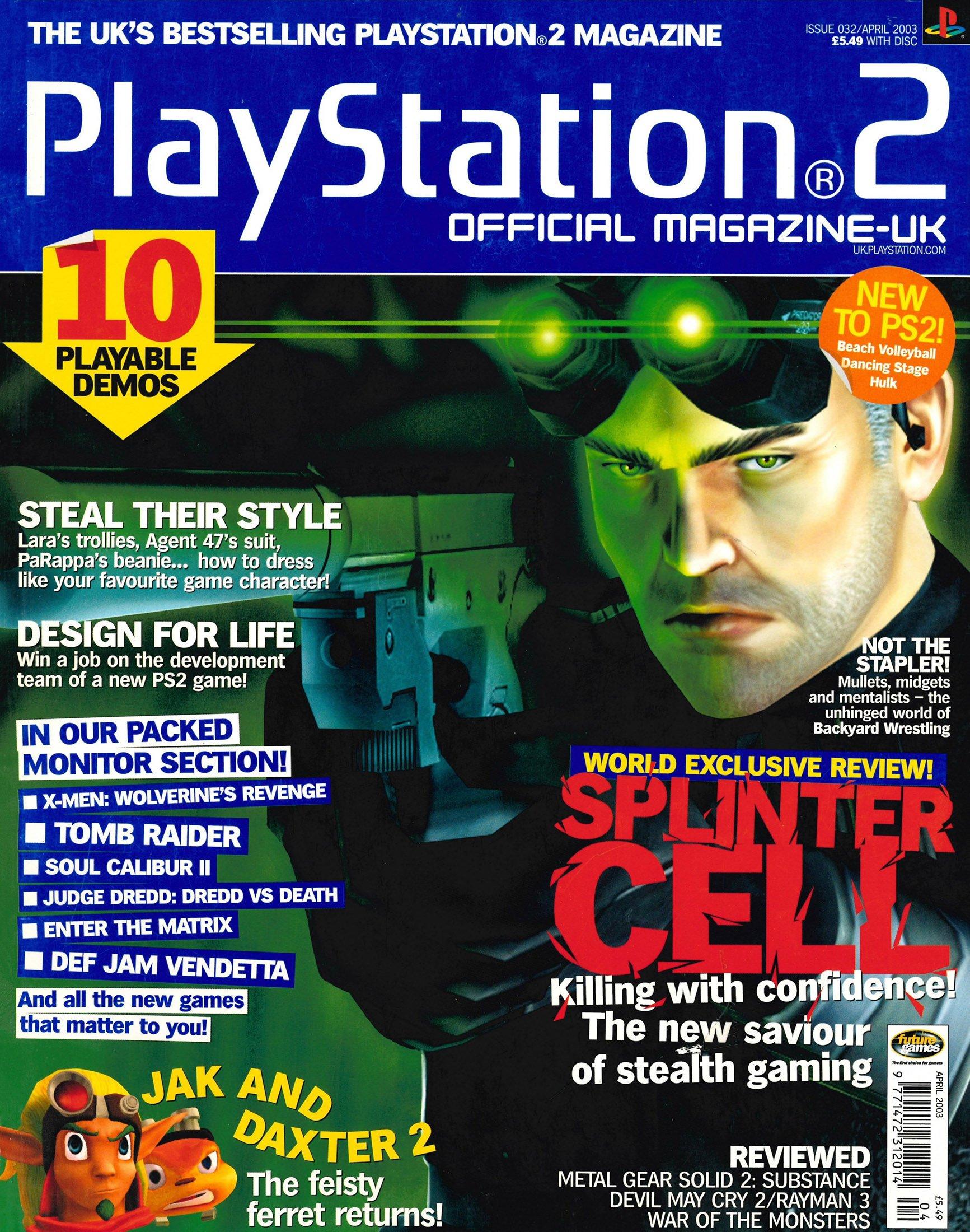 Official Playstation 2 Magazine UK 032 (April 2003)