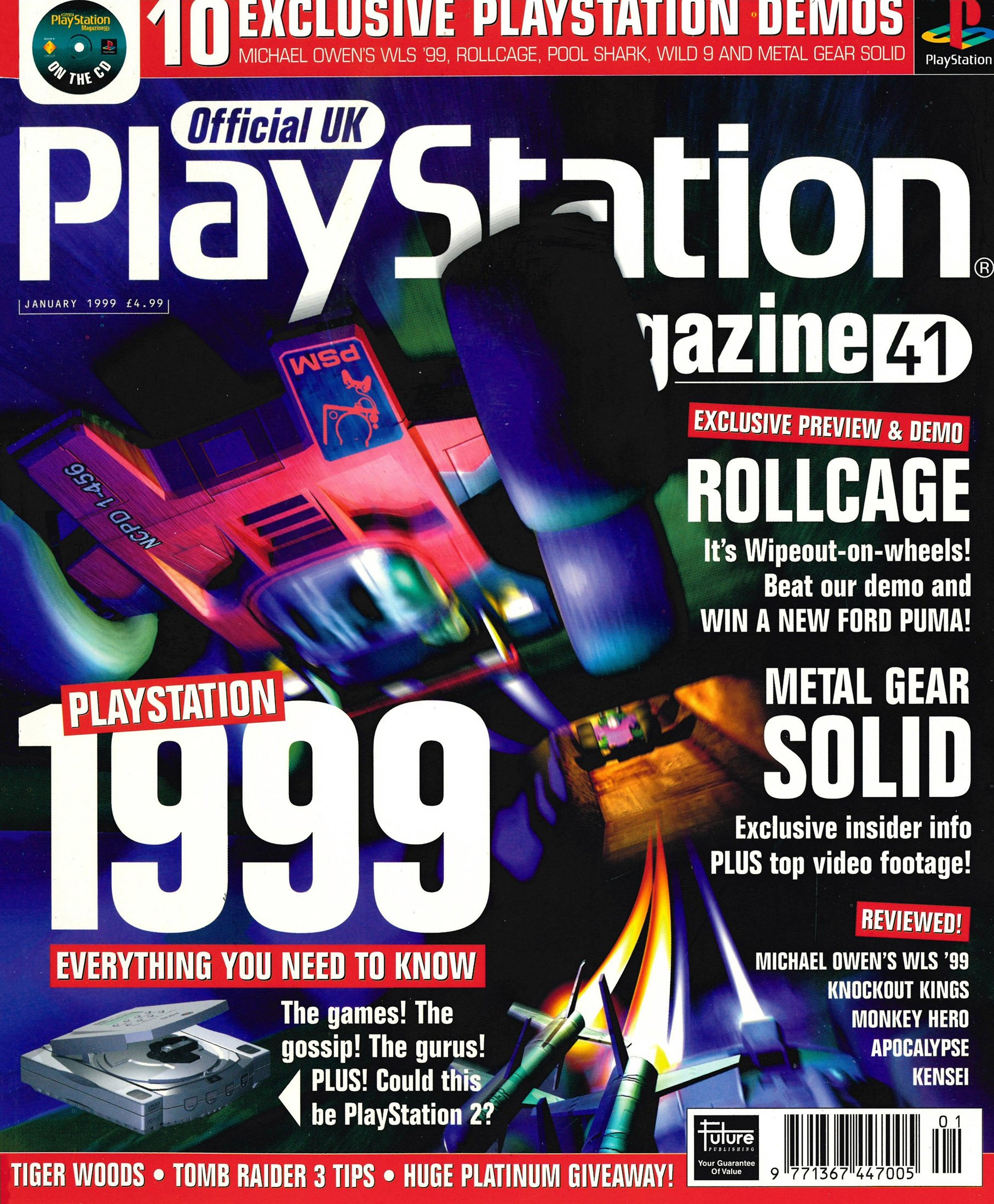 Official UK PlayStation Magazine Issue 041 (January 1999)